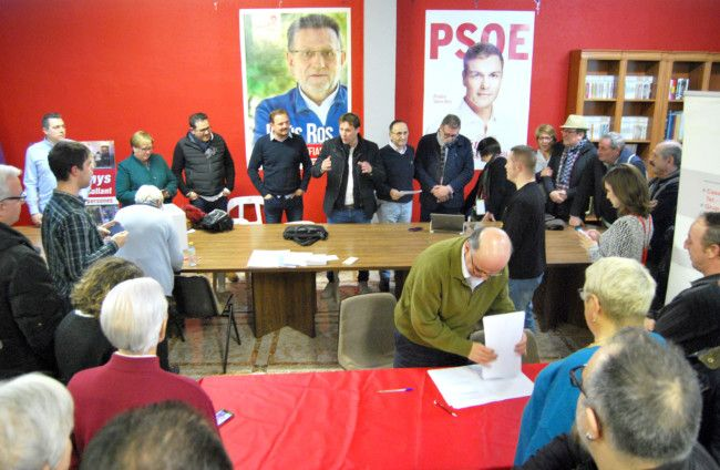 Andrés Campos nuevo Secretario General PSPV Horta Sud