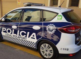policía rocafort coches patrulla