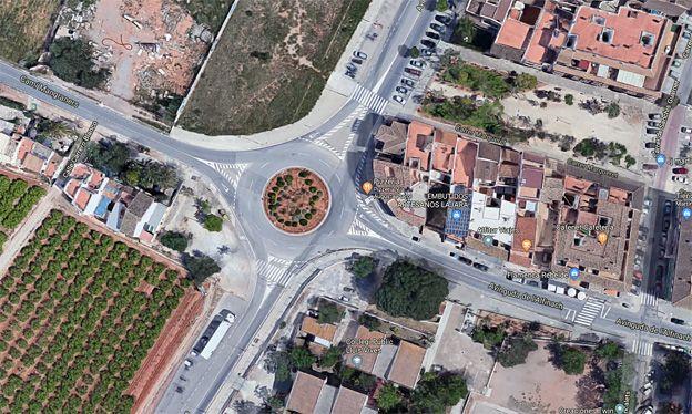 Puçol iniciará las obras en la zona de la rotonda de Corts Valencianes con la avenida Alfinach