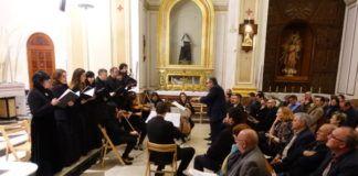 XXII Concierto de Música Sacra organizado por la Cofradía de Semana Santa de Moncada