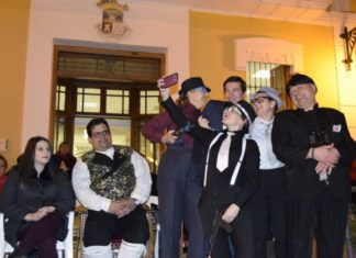 Agrupación fallas Burjassot Cabalgata Ninot