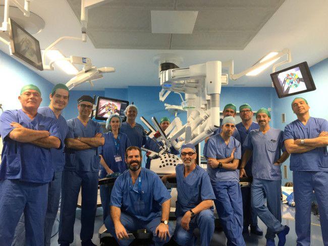 El hospital IMED Valencia ha celebrado las I Jornadas de Avances en Cirugía Robótica aplicada a la urología