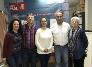 Nueva Ejecutiva PSPV-PSOE Massamagrell