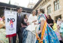 Recepción falleros de la provincia Diputación