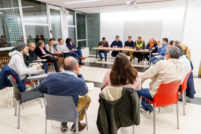 Reunión Ayuntamiento y fallas de Mislata