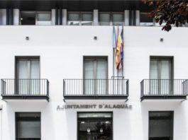 alaquas ayuntamiento fachada