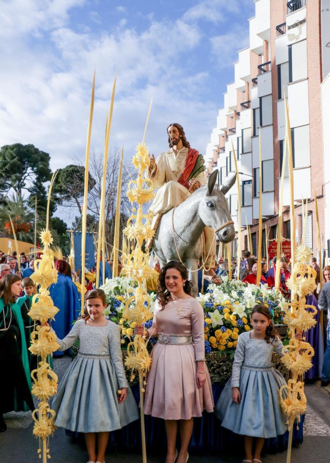 Domingo de Ramos Semana Santa Torrent