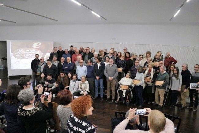30 anys d'ensenyament en valencià a Torrent repassa
