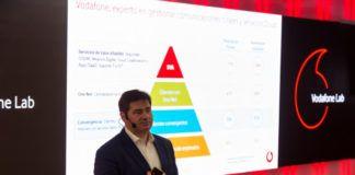 Andrés Vicente presenta Vodafone Infiny y nuevo Data Center