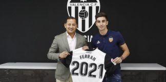 Ferran Torres Valencia CF renovación