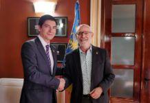 Firma convenio Alboraya Pactem Nord Miguel Chavarria Rafa García
