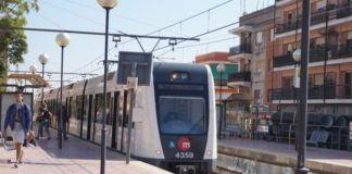 Metro estación Campamento Paterna