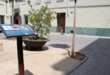 Plaza la Creu Refugio-Blindados