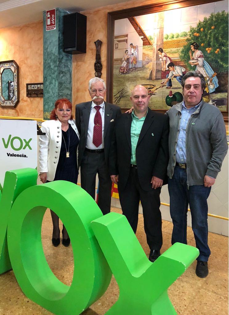 Presentacion de VOX en Massmagrell