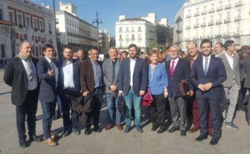 alcaldes en Madrid para reclamar dinero Autoridad Metropolitana