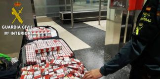 Guardia Civil contrabando tabaco