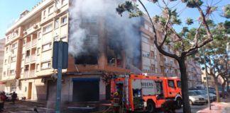 incendio vivienda Albal