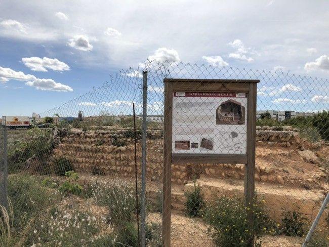 villa romana l'Alter en Torrent yacimiento arqueológico