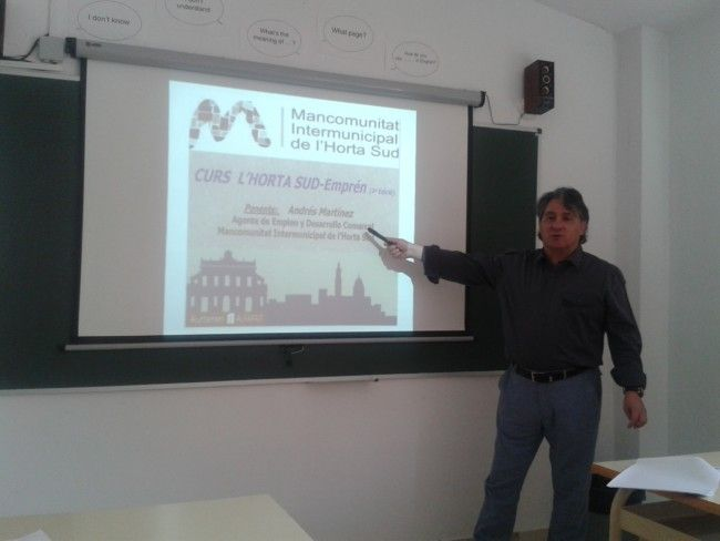 El ADL comarcal forma en emprendimiento al alumnado de Alfafar
