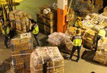 La Policía Nacional interviene más de 41.500 artículos falsificados en 2 naves de Manises y Quart y 3 bazares de Sevilla