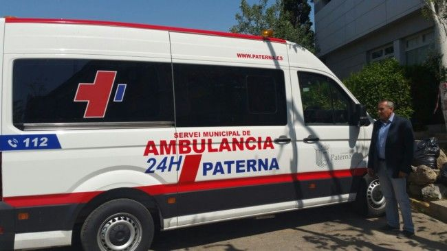 Paterna nueva ambulancia