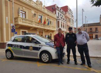 Policia Local Foios nuevo vehiculo
