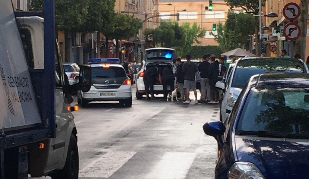 Policia Local Sedaví cabra montesa