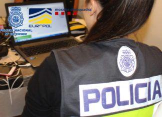 Policia operacion multinacional del fraude