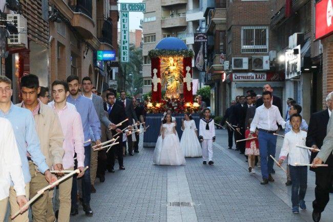 Torrent celebra la festividad de la Virgen del Rosario