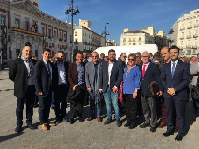 alcaldes socialistas area metropolitana Madrid