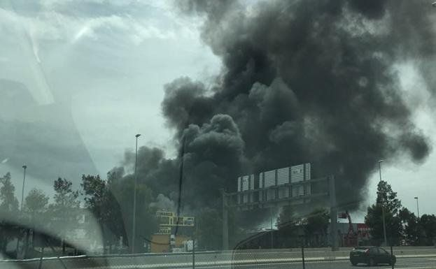incendio taller quart de poblet