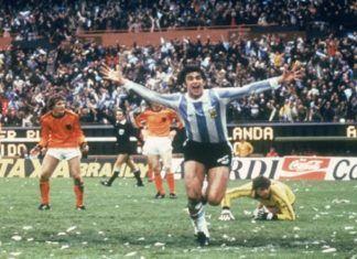 Mario Kempes gol Mundial Argentina