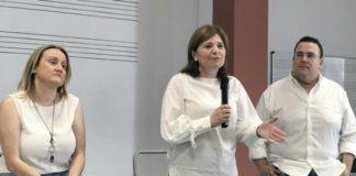 Isabel Bonig con Virgina Garrigues