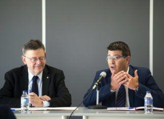 Jorge Rodriguez y Ximo Puig