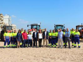 Diputació aumenta sus recursos para la campaña estival de limpieza de playas