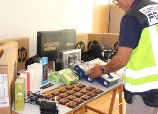 Policia Nacional robo colegio san antonio benageber