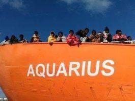 barco aquarius refugiados
