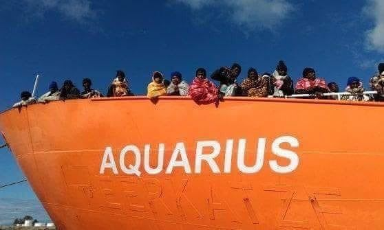 barco aquarius refugiados