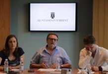 Ros, Campos y Ferrer, rueda de prensa Torrent