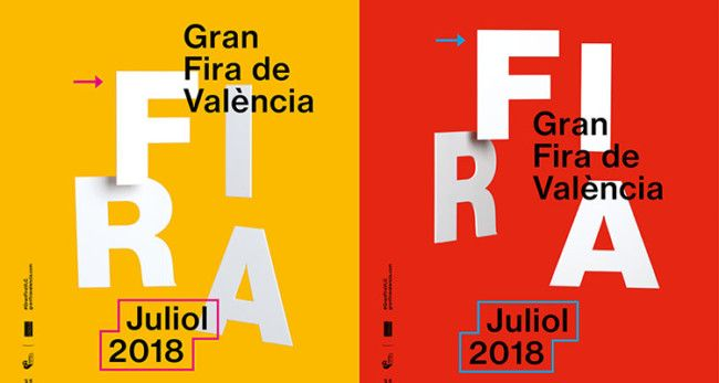 Cartel feria de Julio 2018