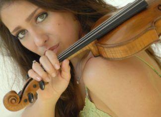 Leticia Moreno, violinista, al festival de música de cambra de Godella