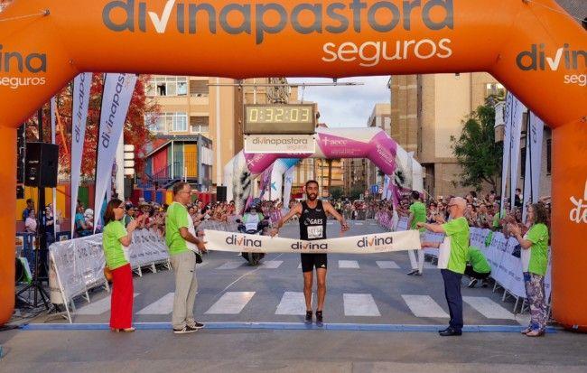 Khalifa Zarhnoun gana la 10K Divina Pastora Seguros Alboraya contra el Cáncer