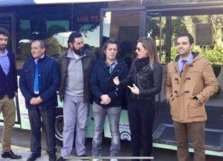 Primer viaje bus Lloma Llarga 2