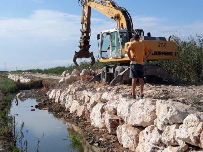 Alfafar inicia los trabajos de reparación del camino Rabisancho