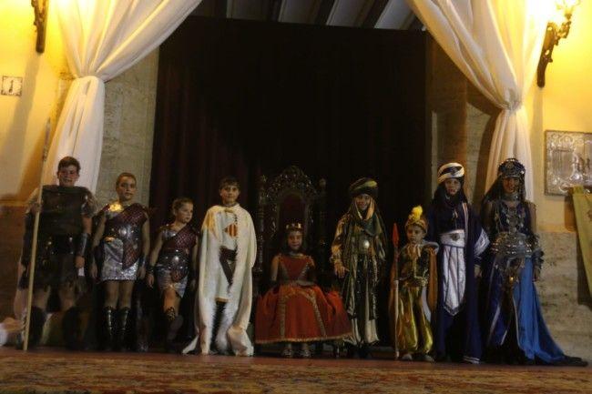 Desfile Infantil de Moros y Cristianos y parlamento