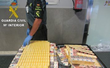 Guardia Civil contrabando tabaco