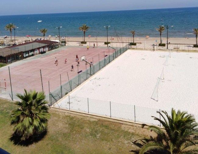 Pista arena Port Saplaya