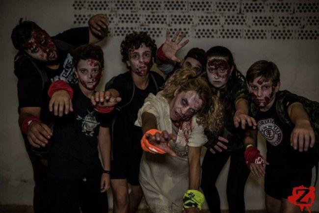 ataque de zombies Picassent
