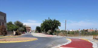 Meliana millora la seua entrada i eixida en la nova rotonda del carrer Garrogosa