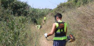 Torrent contrata a 24 nuevos trabajadores para la limpieza y conservación de su patrimonio forestal